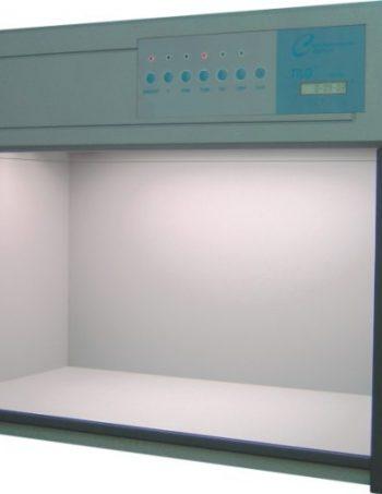 Tủ so màu bằng đèn ứng dụng trong dệt, nhuộm, vải, ..