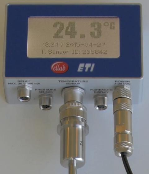 Thiết bị theo dõi nhiệt độ nồi hấp Ellab - ETI