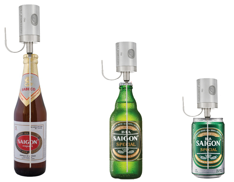 Máy đo độ thanh trùng cho bia - nhà máy Bia Sài Gòn
