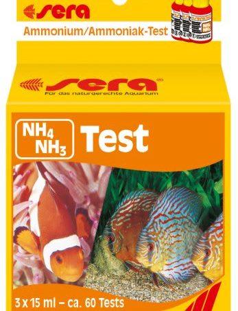Test NH3, NH4 sera kiểm tra Amoniac nước