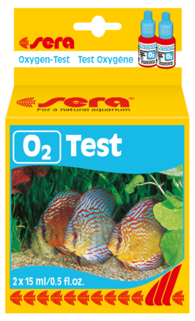 test O2 sera kiểm tra oxy trong nước