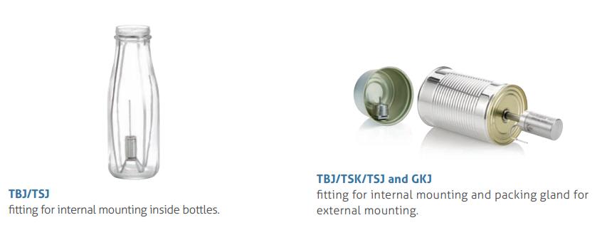 thiết bị đo nhiệt độ trung tâm sản phẩm - phụ kiện đo trong đồ hộp