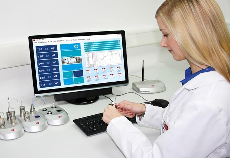 phần mềm hiển thị thiết bị thẩm định nhiệt độ