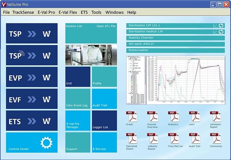thiết bị thẩm định nhiệt độ phần mềm