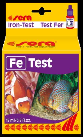 test Fe sera kiểm tra sắt trong nước