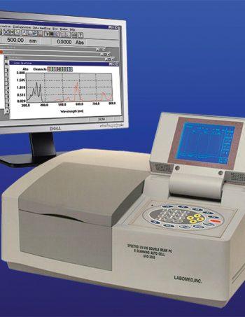 Máy quang phổ quét tự động hai chùm tia
