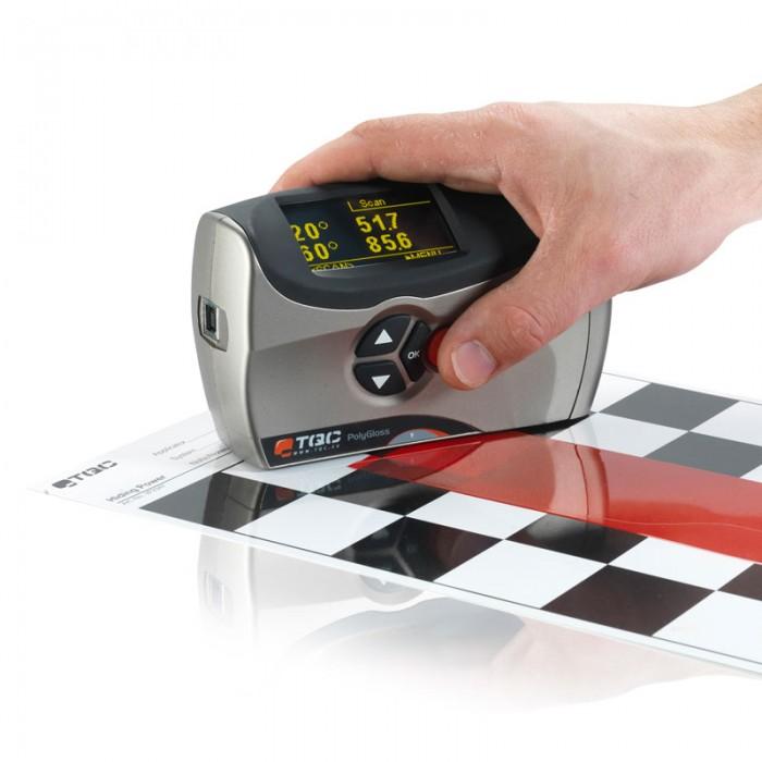 máy đo độ bóng của sơn - hình ảnh sử dụng