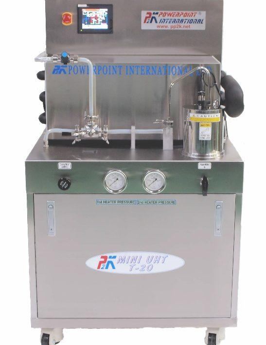 Hệ thống tiệt trùng UHT dạng trao đổi ống nhiệt