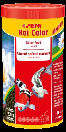 thức ăn tăng màu cho cá Koi